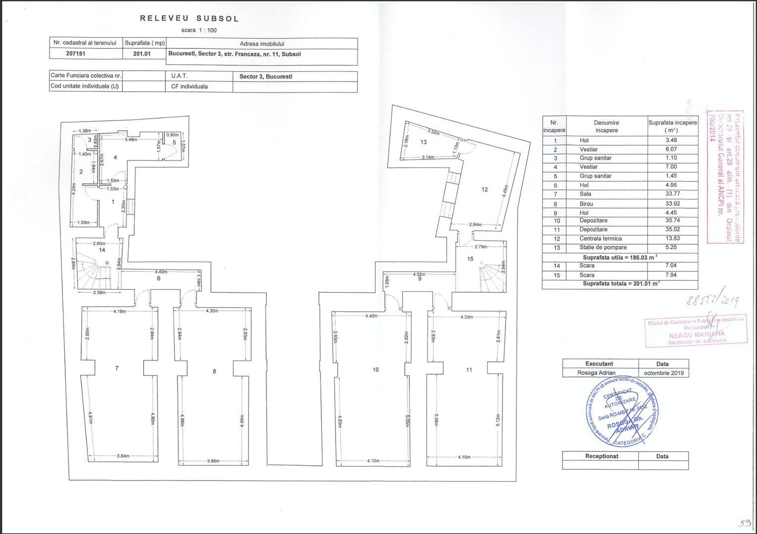 Centrul Vechi – Cladire monument istoric complet consolidata de vanzare