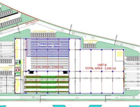 Spatiu logistic in zona Aeroportului Otopeni